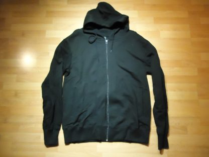 EarthPositive Zip Hoody, schwarz, XL